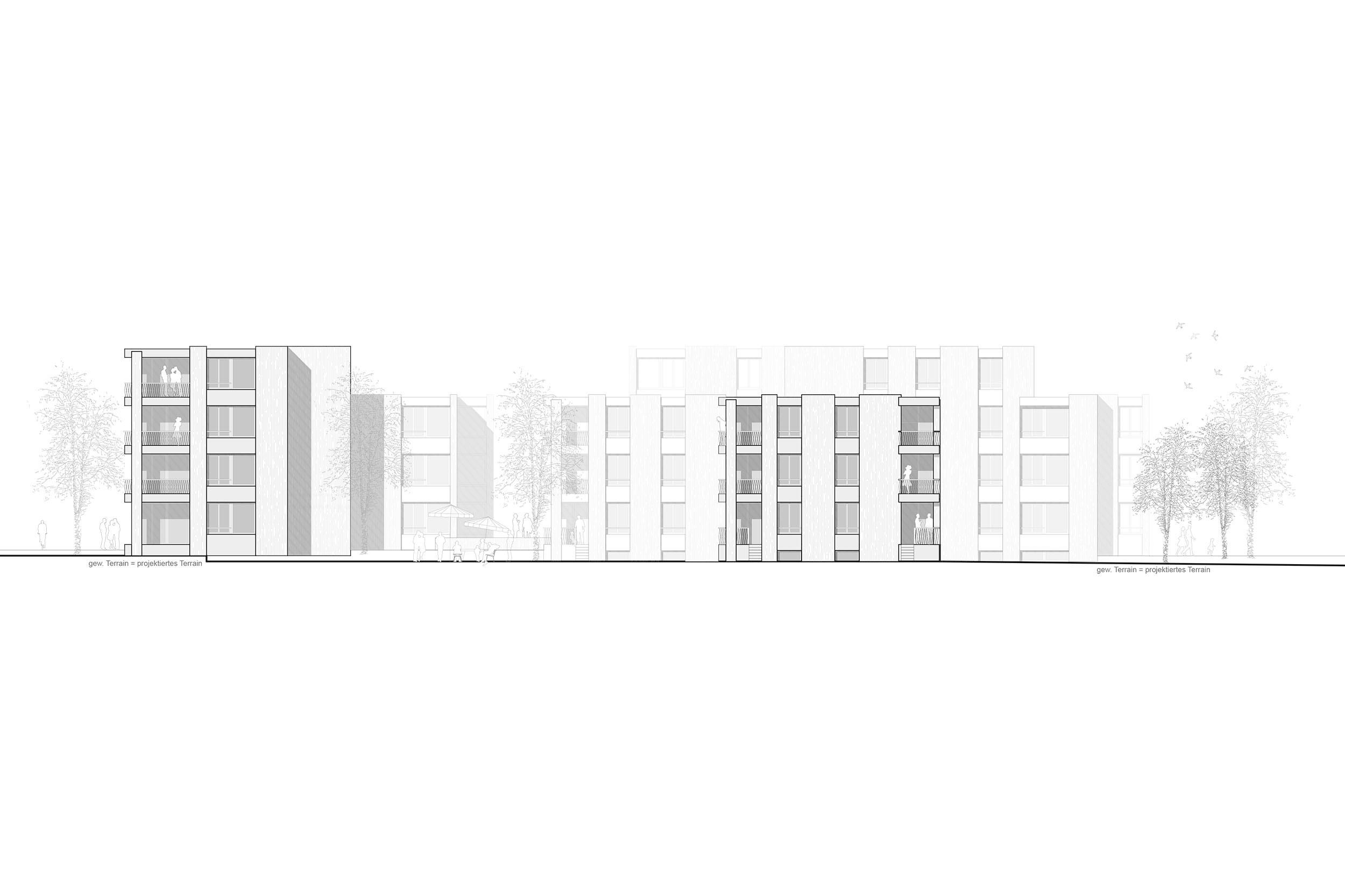 Neubau Wohnüberbauung «An der Wassergasse» Grabs