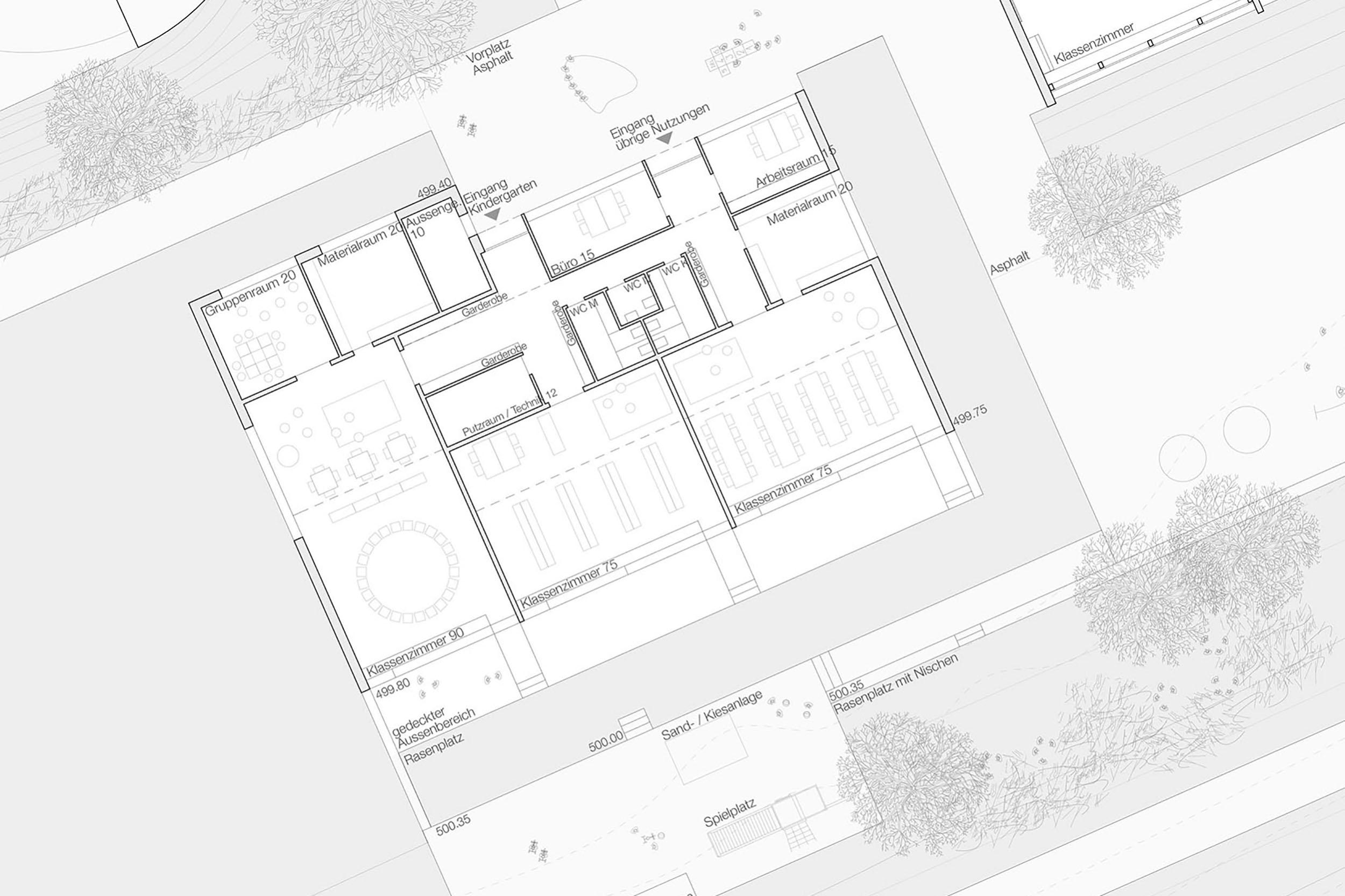 Neubau Kindergarten Wildenstein