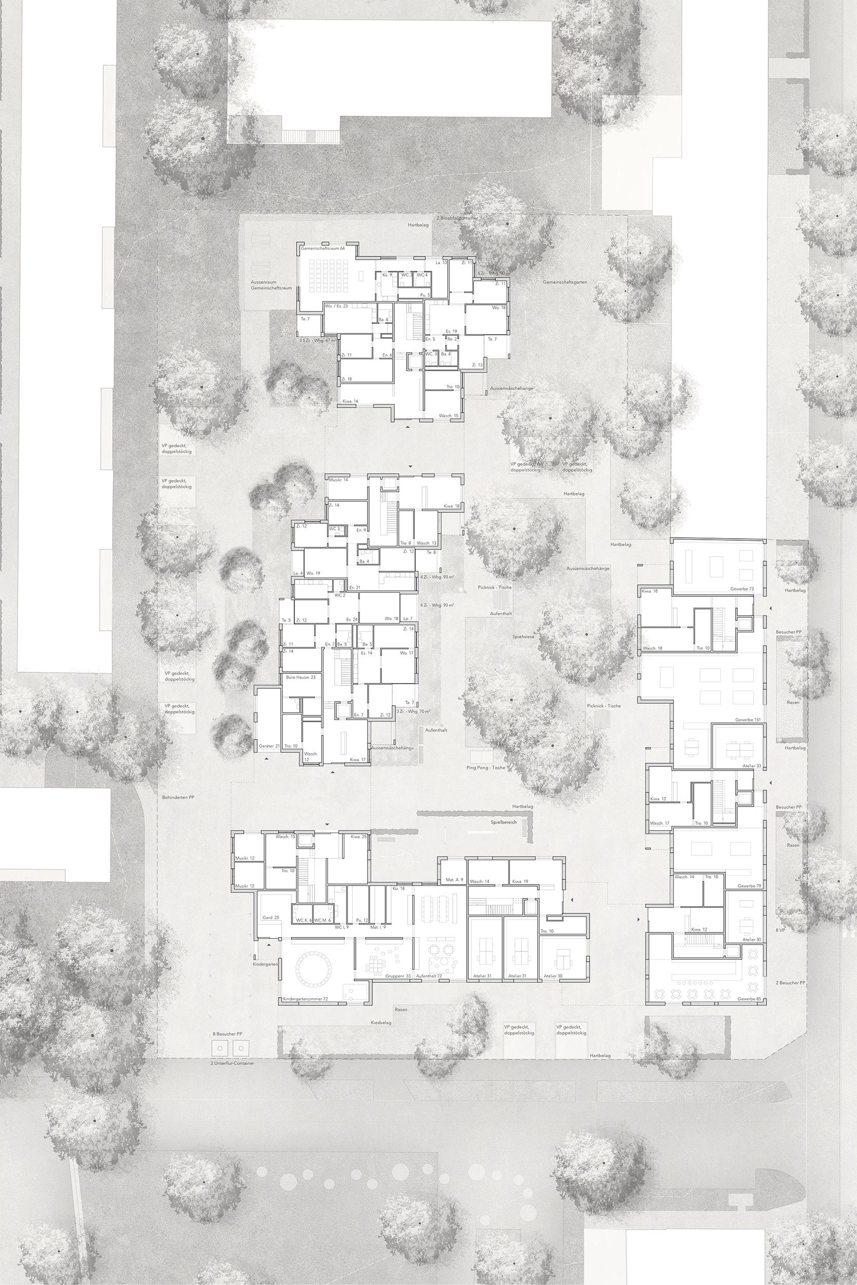 Wohnsiedlung Hardau I